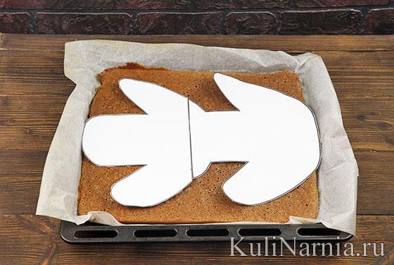 Как приготовить торт Собака