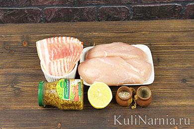 Курица в беконе рецепт