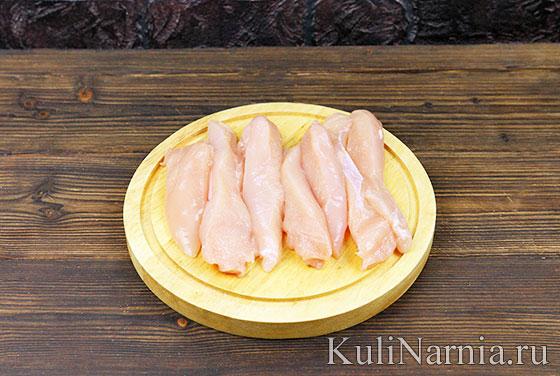Курица в беконе в духовке рецепт