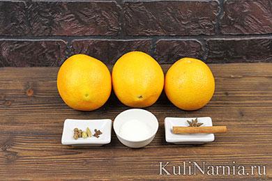Напиток из апельсинов рецепт