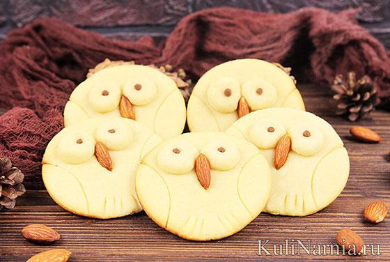 Печенье сова