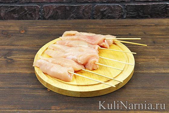 Рецепт курицы в беконе