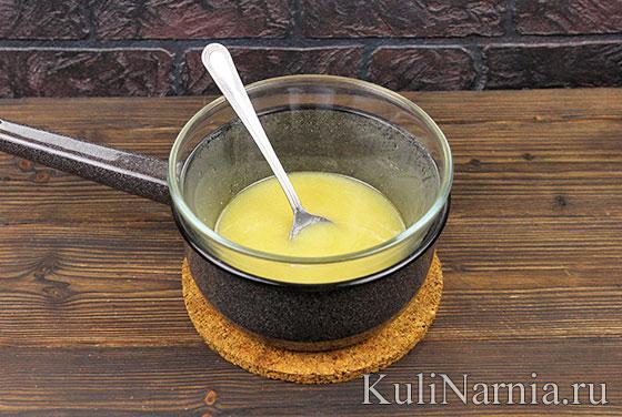 Рецепт медового кекса