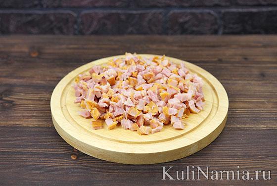 Рецепт салата Косточка