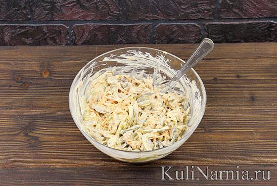 Салат Елка рецепт с фото