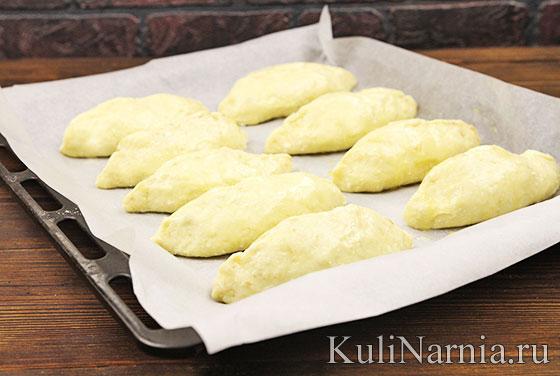 Творожные пирожки в духовке