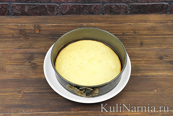 Торт Птичье молоко пошагово