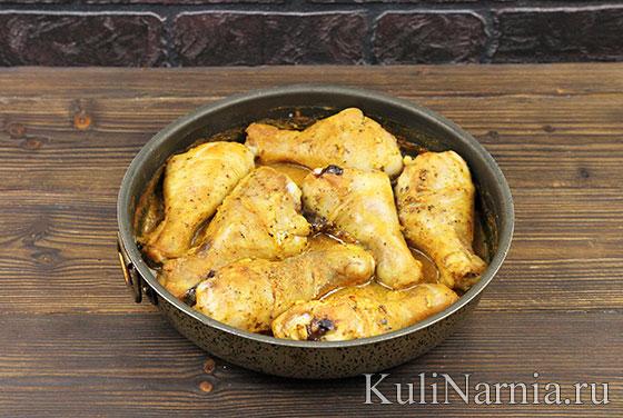 Как готовить курицу в кефире в духовке