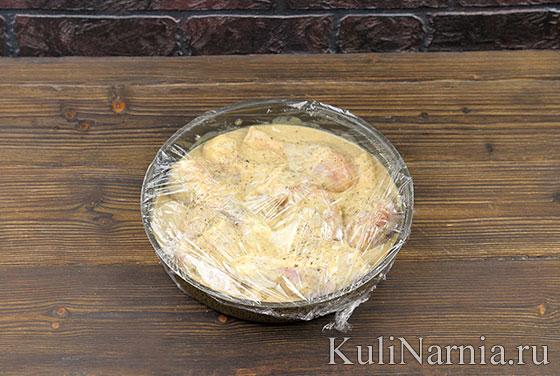 Как готовить курицу в кефире