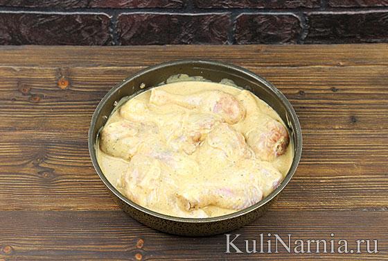 Как приготовить курицу в кефире