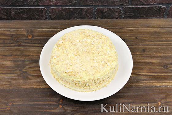 Как приготовить торт Полет