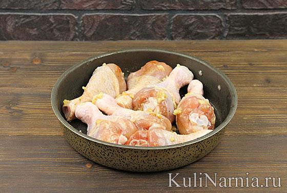 Курица в кефире рецепт с фото