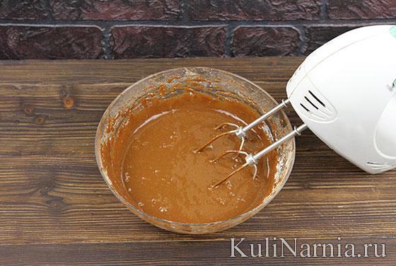 Рецепт пирожного Ночка пошагово