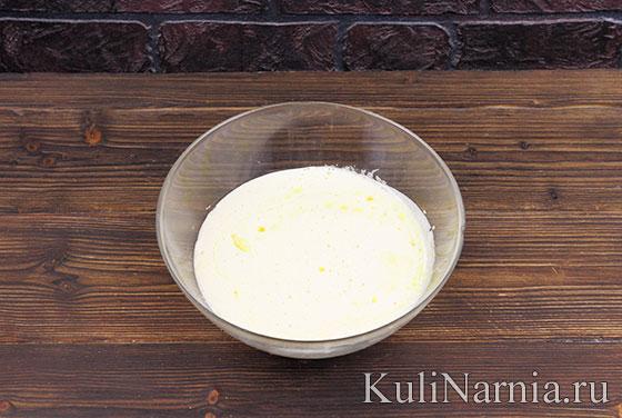 Рецепт пирожного Ночка с фото