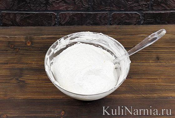 Рецепт торта Полет с безе