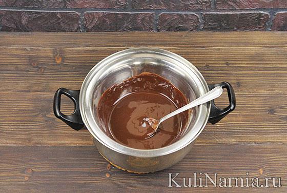 Шоколадная паста Нутелла пошагово