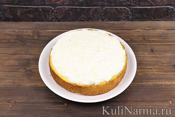 Итальянский торт Мимоза с фото