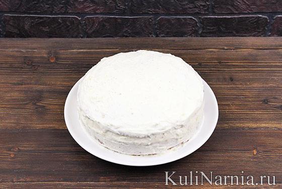 Итальянский торт Мимоза