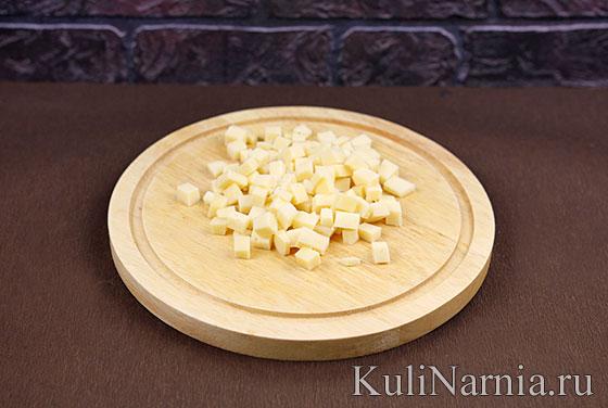 Как готовить салат с ветчиной и сыром