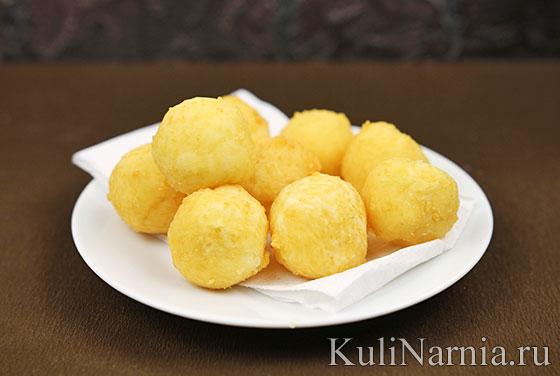 Как готовить сырные шарики