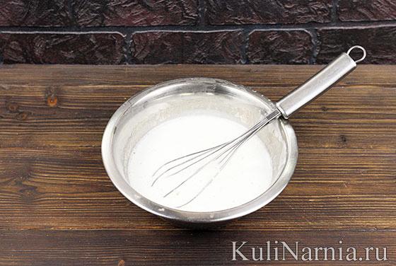 Крем для торта Мимоза пошагово