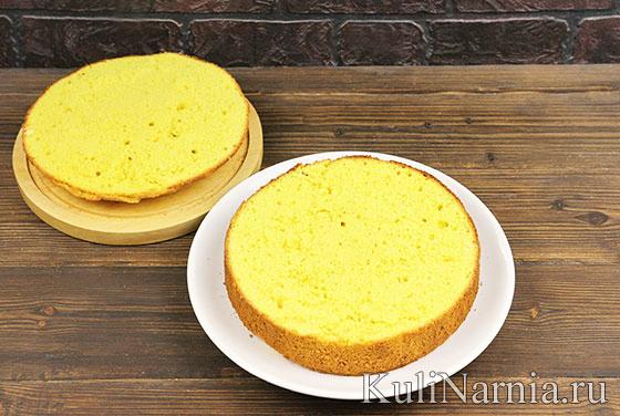 Мимоза торт рецепт
