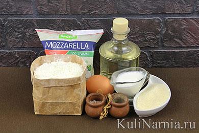 Сырные шарики с моцареллой рецепт
