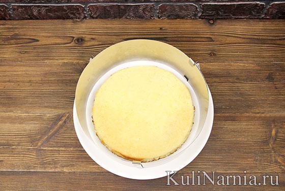 Пошаговый рецепт торта Пломбир