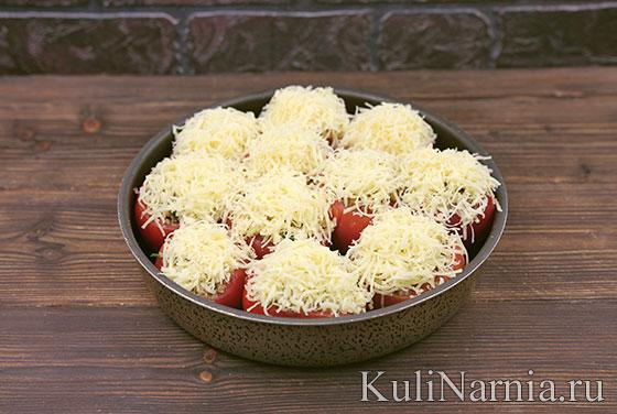 Фаршированные помидоры с фаршем