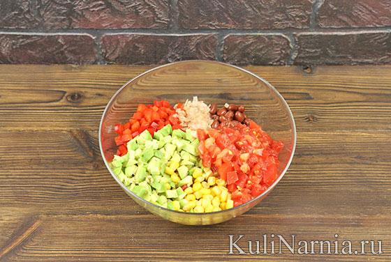 Как приготовить мексиканский салат