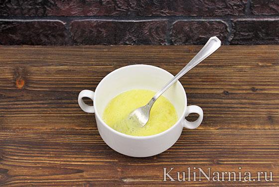 Как приготовить салат с омлетом