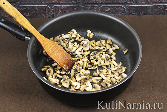 Кесадилья с грибами рецепт