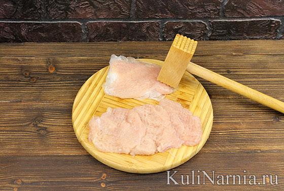 Куриные отбивные с ананасом рецепт