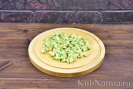 Мексиканский салат с авокадо