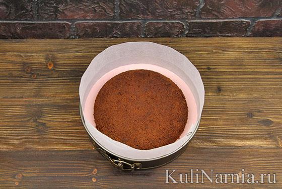 Муссовый торт с клубникой рецепт