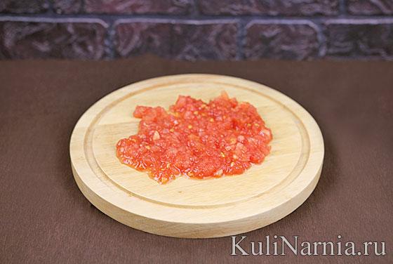 Рецепт гуакамоле с помидорами