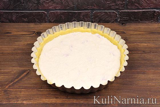 Как готовить пирог с творогом и клубникой