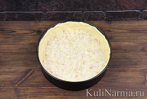 Как приготовить пирог с рисом и рыбой