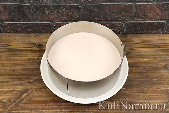 Клубничный торт без выпечки с фото