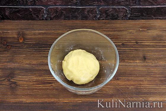 Песочное тесто для клубничного пирога