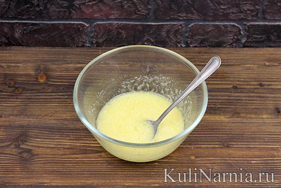 Песочный пирог с клубникой и сливками