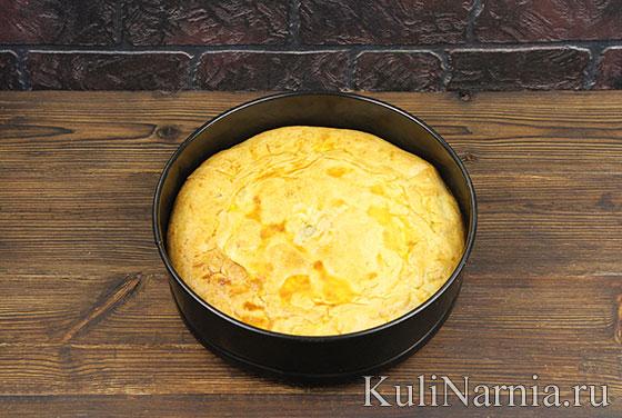 Пирог с рыбой и рисом в духовке