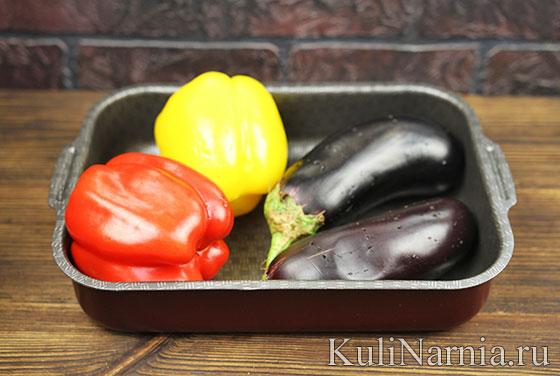 Салат с баклажанами помидорами рецепт с фото