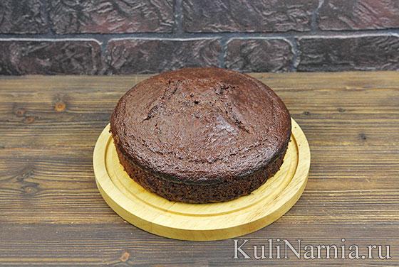 Шоколадный торт с бананом рецепт