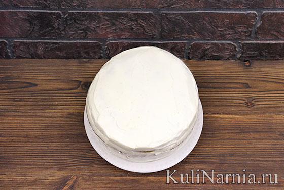 Торт Изумрудный бархат рецепт с фото