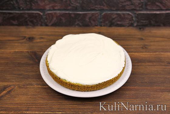 Торт Изумрудный бархат с фото