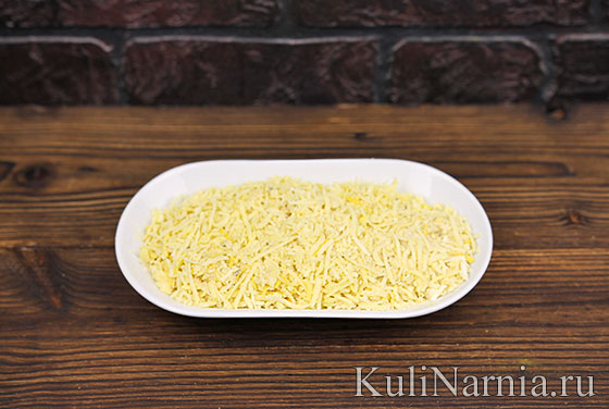 Кабачки с сыром в духовке пошагово