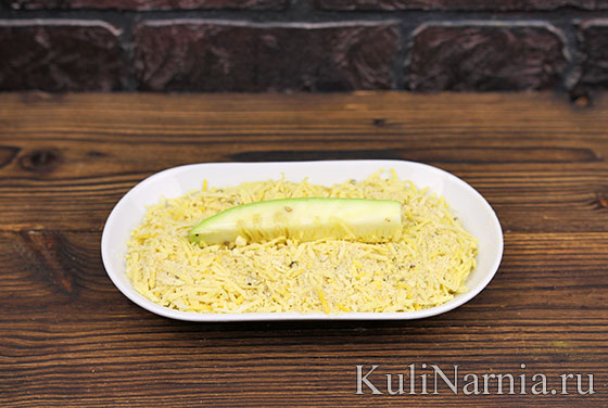 Кабачки в духовке с сыром с фото