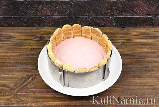 Как готовить малиновый торт