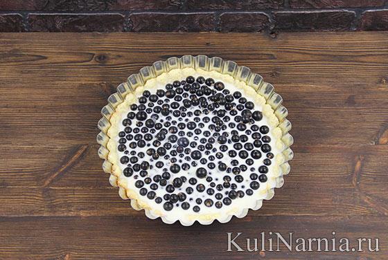 Как готовить пирог с черной смородиной